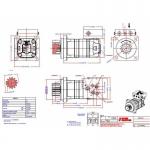 Героторный Гидромотор OMS 250H 151F0368 Sauer-Danfoss Neuson 1402RD