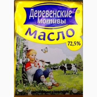 Масло Деревенские мотивы