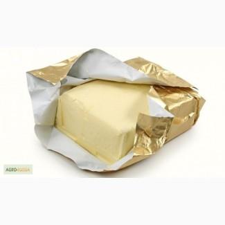 Масло Крестьянское, ГОСТ, сладко-сливочное, 72, 5% 180гр., (фольга, пергамент