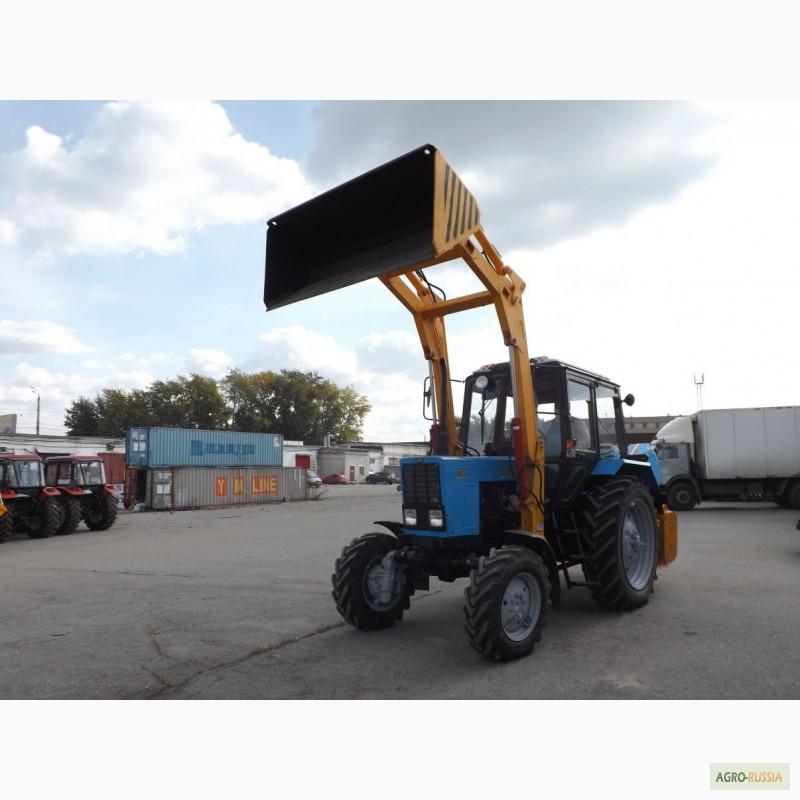 Коммунальный Трактор МТЗ 320.4 Отвал+Щётка: продажа, цена.
