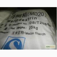Мальтодекстрин (сухой глюкозный сироп) DE 12, 19, 33 /Франция, Китай/