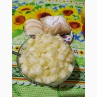 Начинка яблочная термостабильная 80%, 95% яблок