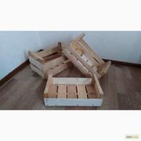 Деревянные ящики из шпона для упаковки фруктов и овощей в Крыму