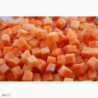 Замороженная Морковь кубик