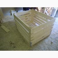 Деревянные контейнеры для хранения сельхозпродукции