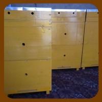 Ульи готовые к пчелиному новоселью