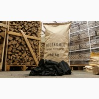 Ukrainische Holzkohle-Produktion