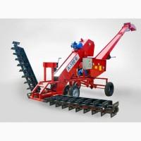 Надежный самопередвижной зернометатель ВАТ серии А производительностью до 200 тонн