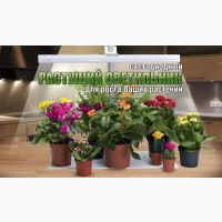 Домашний растущий led фитосветильник Здоровья Клад 9 Вт для подсветки цветов