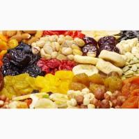 Сухофрукты оптом орехи арахис курага чернослив изюм итд