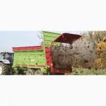 TYTAN стандартные универсальные разбрасыватели органических удобрений UNIA