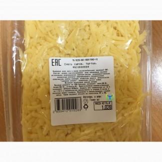 Сыр тёртый фасованный