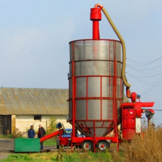 Мобильная зерносушилка АТМ-34