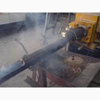 Пресс шнековый для топливных брикетов брикетировщик