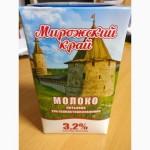 Молоко Мирожский край 1л ГОСТ 3.2%
