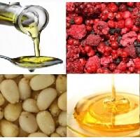 Продаем ядро ореха кедрового, масло ореха кедрового (холодный отжим), сушеную лесную ягоду