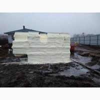 Утепление и теплоизоляция овощехранилищ напылением ППУ