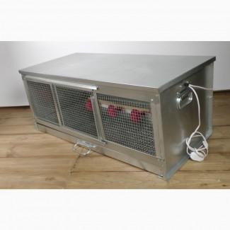 Брудер для цыплят Стандарт оцинкованный на 50-60 цыплят
