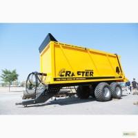Навозоразбрасыватель 20 m3 - 25 тонн / manure spreader 20 m3 - 25 ton