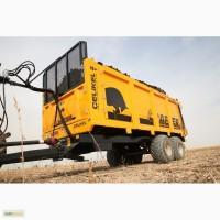 Навозоразбрасыватель X10 - 13 тонн / manure spreader X10 - 13 ton