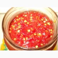 Аджика перцовая, томатная