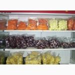 Свежие овощи в вакуумной упаковке