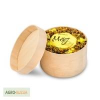 Эко тубусы из натурального шпона для меда, варенья