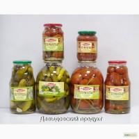 Производители Продадим консервированные огурцы, помидоры