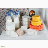 Натуральные молочные продукты в ассортименте