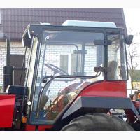 Стекло двери на трактор Втз 2032. Втз 2048. Т30.45.152. (размер 1262*1000. 3 отверстия)