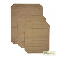 Мешки бумажные закрытого клапанного типа под сыпучие и гранулированные смеси