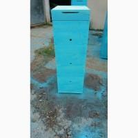 Ульи для пчел с грунтовкой и покраской акриловой краской. Готовые к пчелиному новоселью