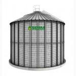 Силос для хранения зерна с плоским основанием от 31 до 19 500 тонн