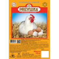 Рябушка полнорационный корм для кур-несушек 10 кг