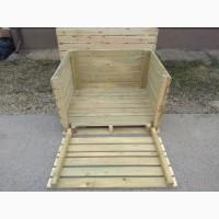 Продам деревянные контейнеры для хранения сельхозпродукции