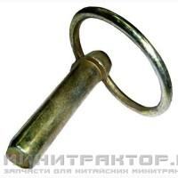 Палец (чека) с кольцом для сельхоз орудий