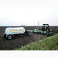 Оказание услуг по внесению безводного аммиака в почву