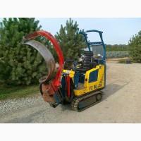 Машина для выкопки деревьев с комом Pazzaglia