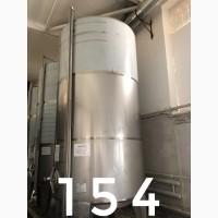 Резервуар вертикальный типа РВ для вина и материалов (10 м3)