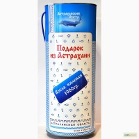 Вобла вяленая в сувенирном тубусе (Подарок из Астрахани)