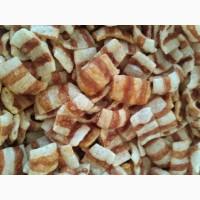 Луковые кольца, бекон, овал ( весовые чипсы )