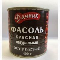 Фасоль консервированная белая/красная