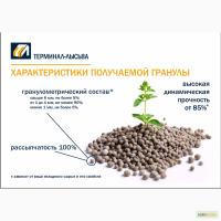 Комплексные удобрения NPKS(Me) в 1 грануле
