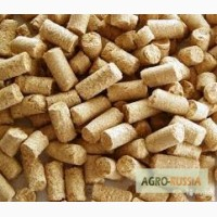 Отруби гранулированные пшеничные комбикорм