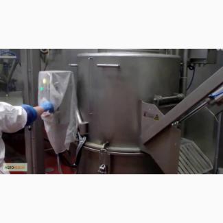 Центрифуга для шерстных и слизистых субпродуктов