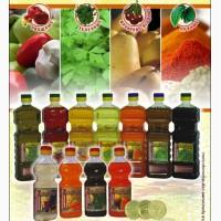 Растительные масла (из фруктов, овощей, зелени, пряные)