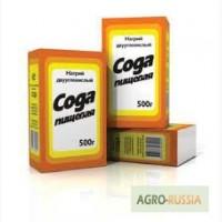 Сода пищевая карт. уп. 500 гр/ мешки