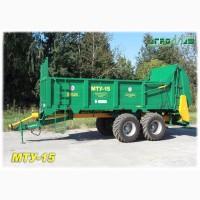 Машина для внесения органических удобрений МТУ-15