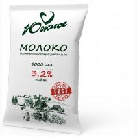 Молоко Южное, м.д.ж. 3, 2% (ТФА), 900 мл ГОСТ
