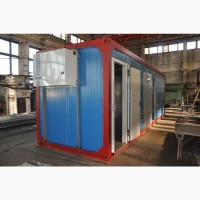 Модуль холодильный для охлаждения и хранения мяса